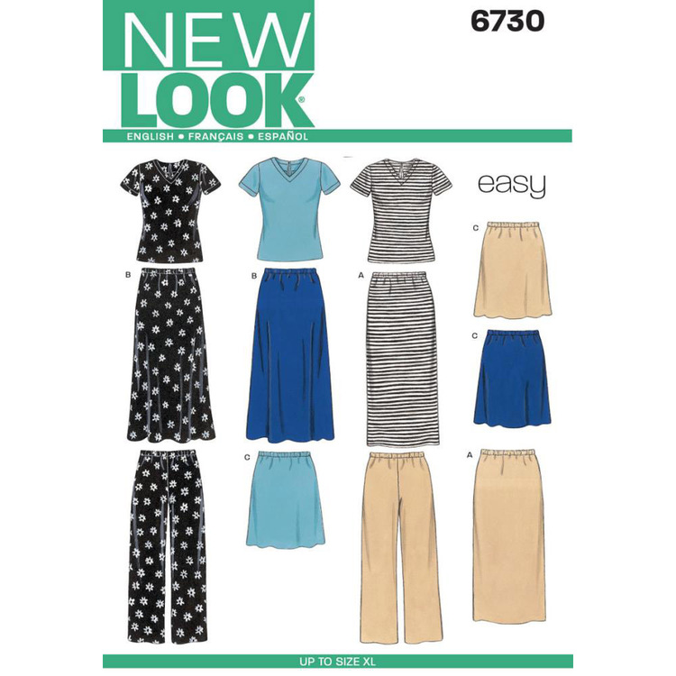 New Look Pattern 6730 Women's Coordinates
