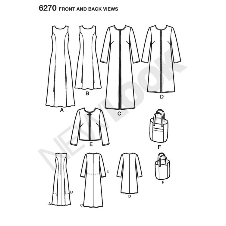 New Look 6270 Women's Dress