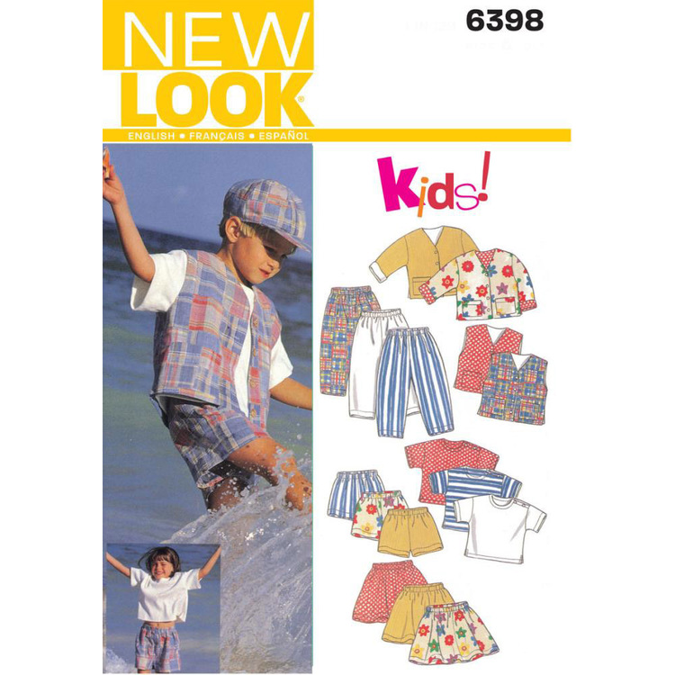 New Look Pattern 6398 Kid's Coordinates