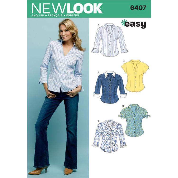 New Look Pattern 6407 Women's Top