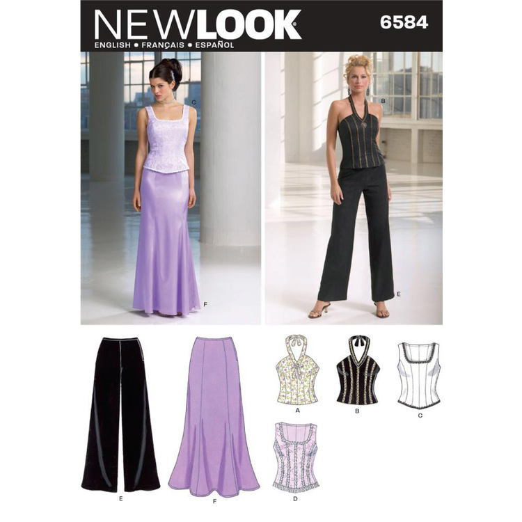 New Look 6584 Women's Evening And Bridal Wear  6 - 16