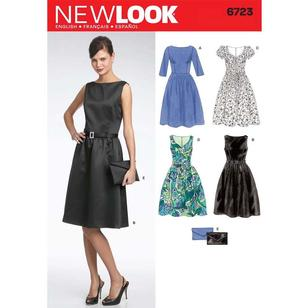 New Look Pattern 6723 Women's Dress