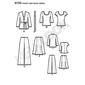 New Look Pattern 6735 Women's Coordinates  10 - 22