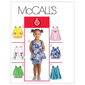 McCall's M5416 Toddlers' Tops Dresses & Shorts All Sizes