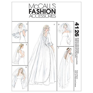 McCalls M4126 Bridal Veils