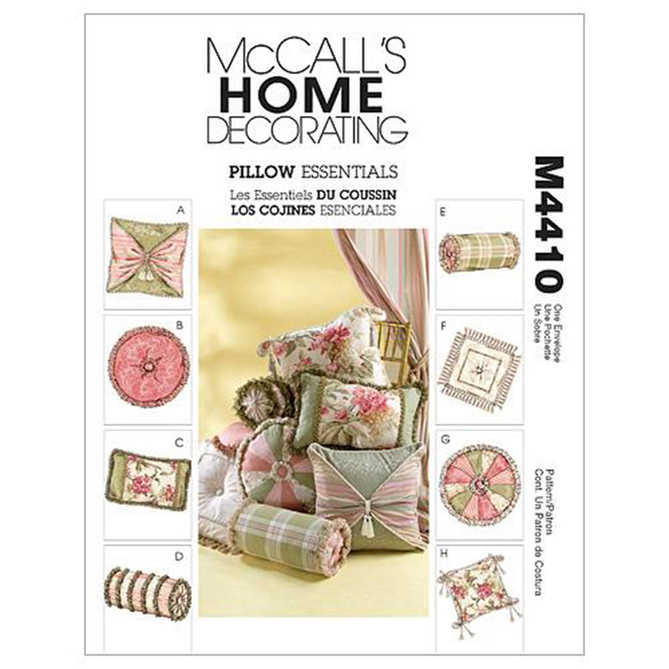 McCall's Pattern M4410 Pillow Essentials
