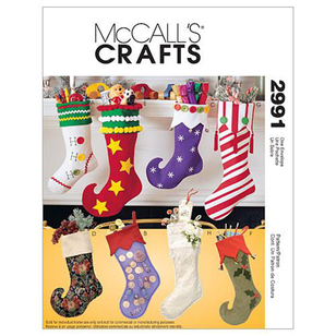 McCall's Pattern M2991 Christmas Stockings