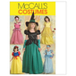 McCalls M5494 Girls' Princess & Witch Costumes