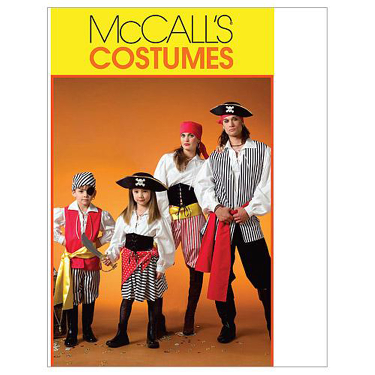 McCall's Pattern M4952 Teens' & Kids' Costumes