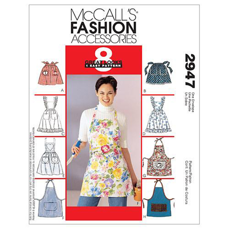 McCall's Pattern M2947 Misses' Aprons