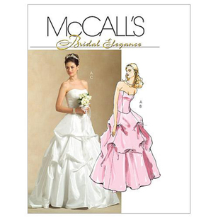 McCall's Pattern M5321 Misses' Lined Top & Skirts