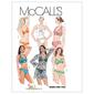 McCalls M5400 Misses' Two- Piece Bathing Suit & Cover-Up