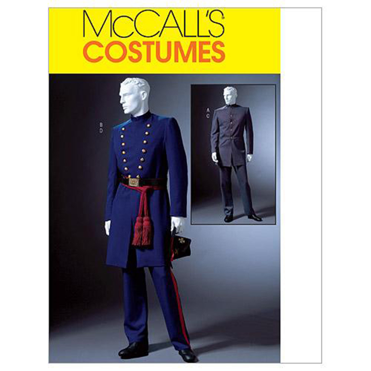 McCall's Pattern M4745 Men's Civil War Costumes