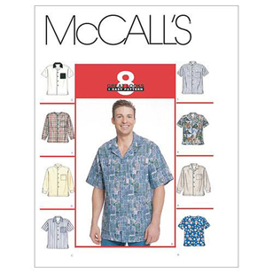 McCall's Pattern M2149 Men's Shirts