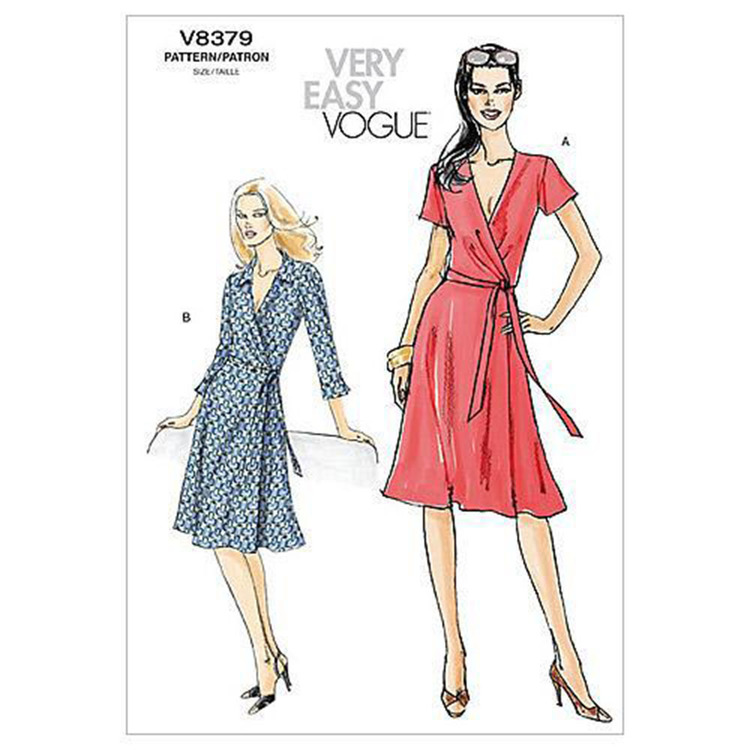 Vogue Pattern V8379 Misses' Dress
