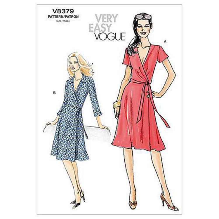 Vogue Pattern V8379 Misses' Dress