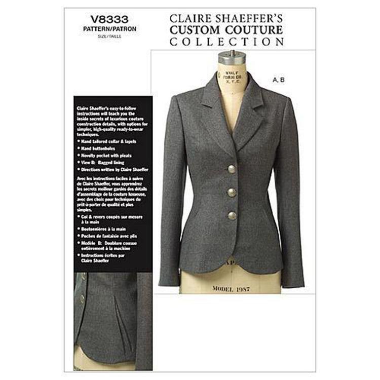 Vogue Pattern V8333 Misses' Petite Jacket