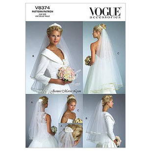 Vogue V8374 Bridal Veils