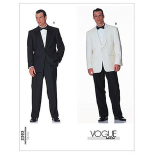 Vogue Pattern V2383 Men's Jacket & Pants