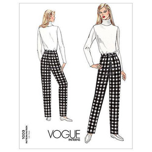 Vogue Pattern V1003 Misses' Pants Fitting Shell