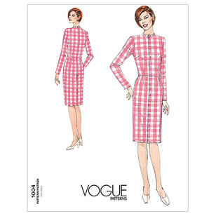 Vogue Pattern V1004 Misses' Dress Fitting Shell