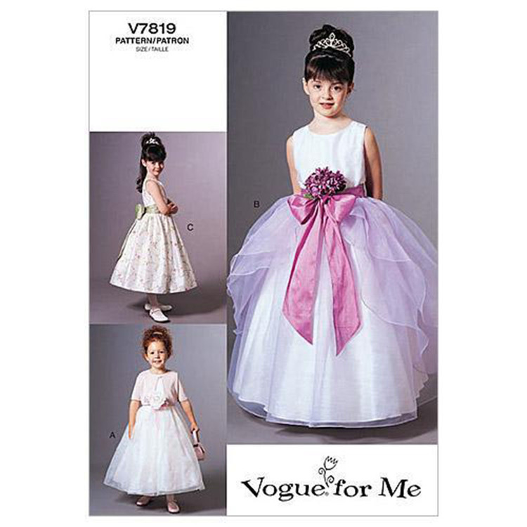 Vogue V7819 Childrens' Jacket & Dress