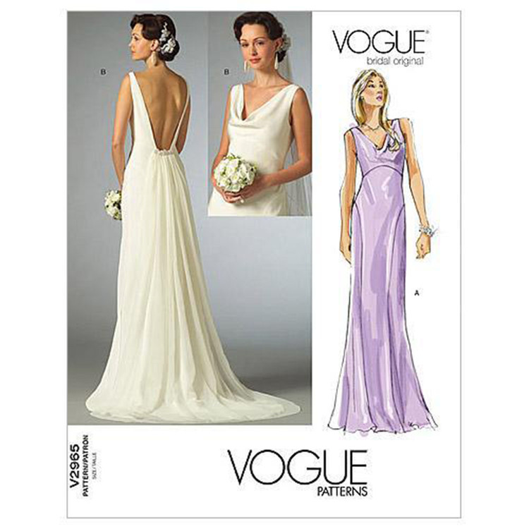 Vogue V2965 Misses' Dress