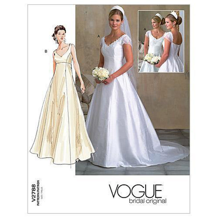 Vogue Pattern V2788 Misses' Petite Dress