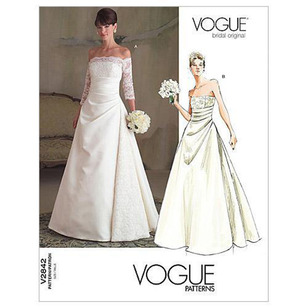 Vogue Pattern V2842 Misses' Dress