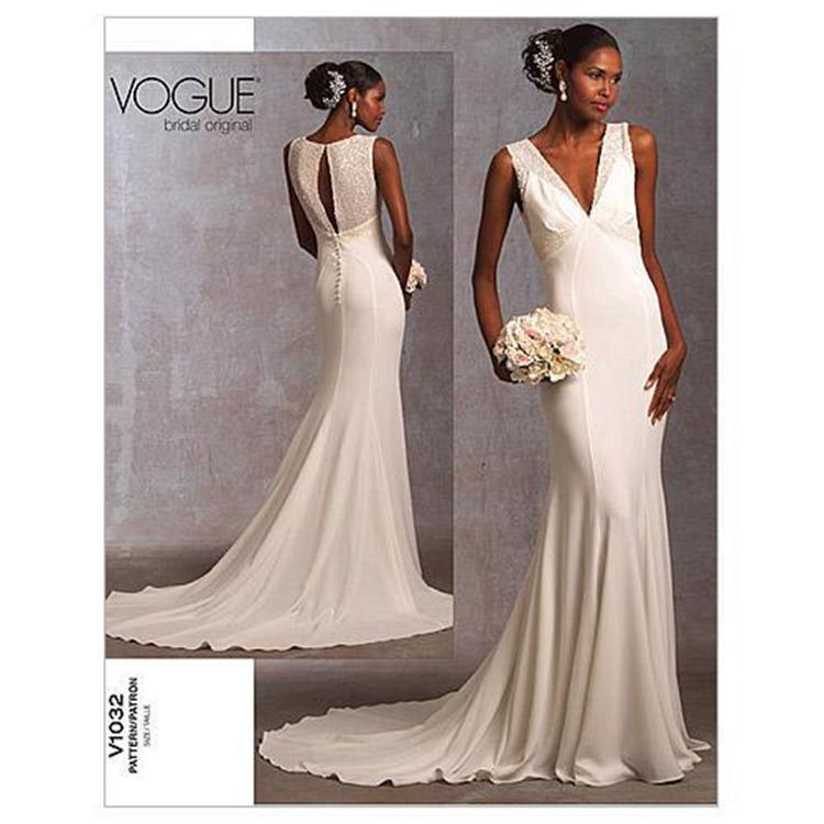 Vogue Pattern V1032 Misses' Dress