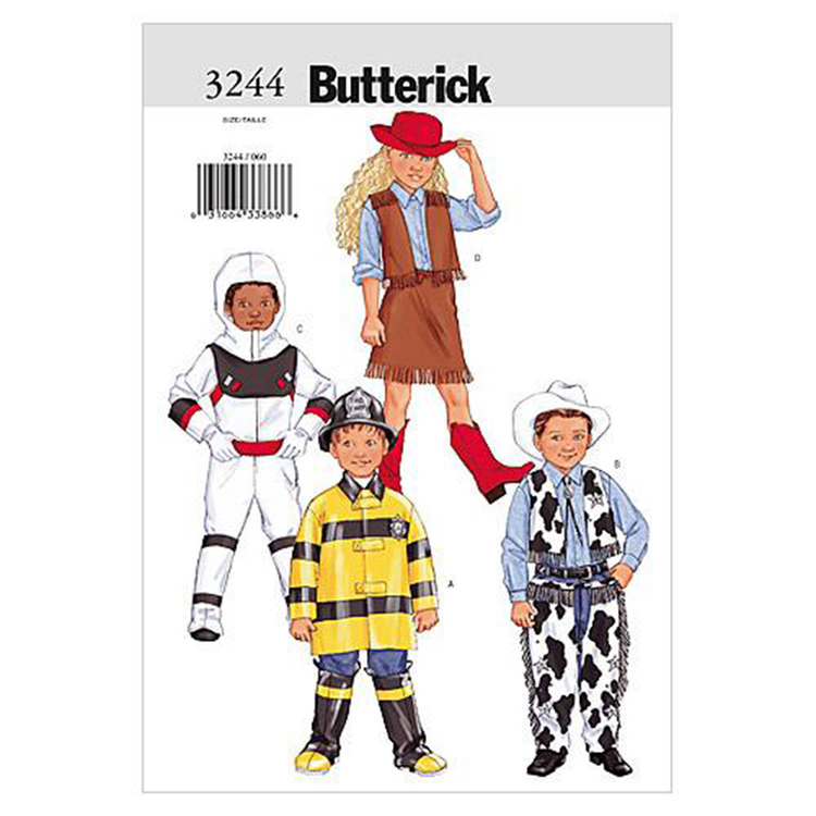Butterick Pattern B3244 Kids' Costume