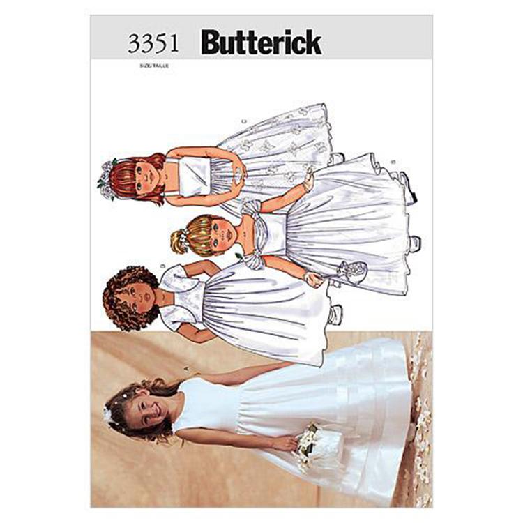 Butterick Pattern B3351 Girls' Jacket & Dress