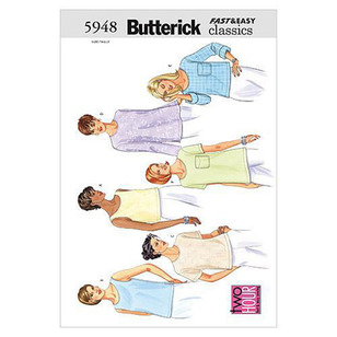 Butterick Pattern B5948 Misses' Petite Top