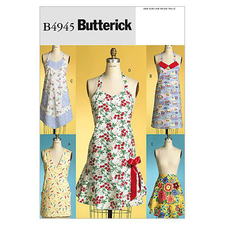 Butterick B4945 Aprons  All Sizes