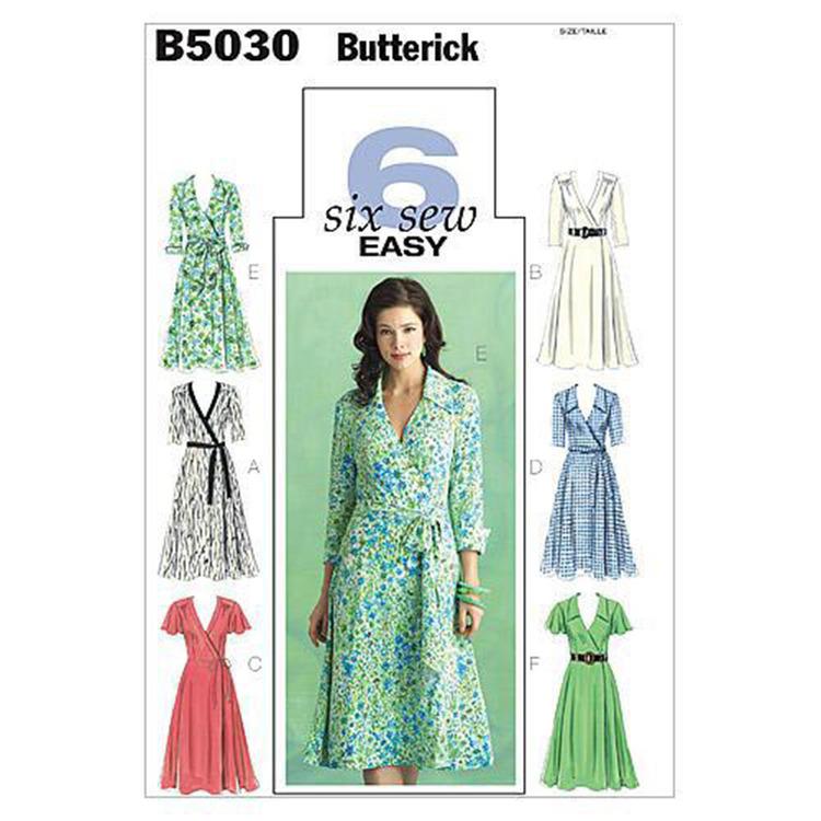 Butterick Pattern B5030 Misses' Dress Belt & Sash