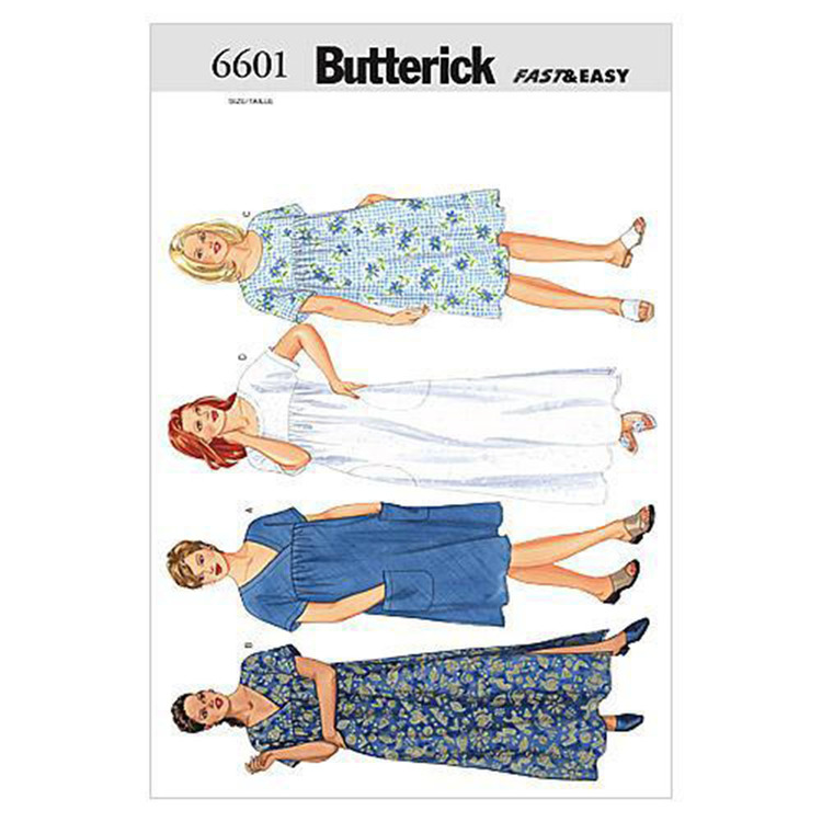 Butterick B6601 Women's  Petite Dress