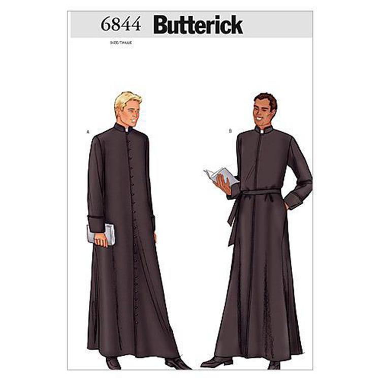 Butterick Pattern B6844 Men's Robe
