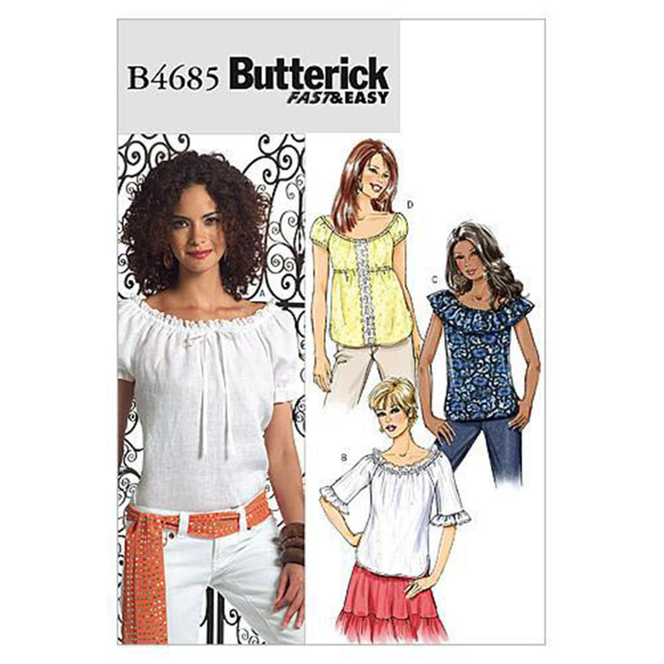 Butterick Pattern B4685 Misses' Top