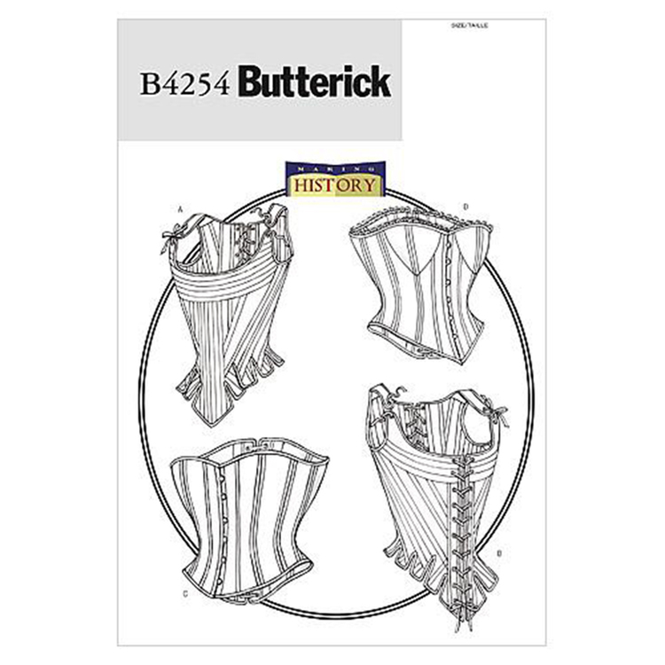 Butterick Pattern B4254 Misses' Stays & Corsets