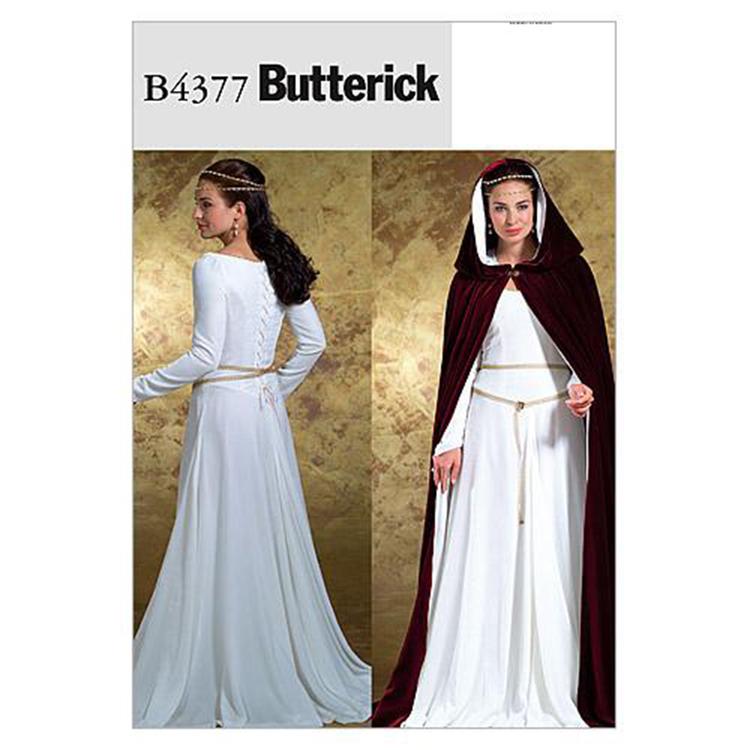 Butterick Pattern B4377 Misses' Costumes