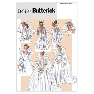 Butterick Pattern B4487 Bridal Veils