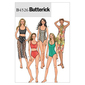Butterick B4526 Misses' Swimsuit & Wrap