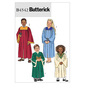 Butterick B4542 Kids' Robe & Collar