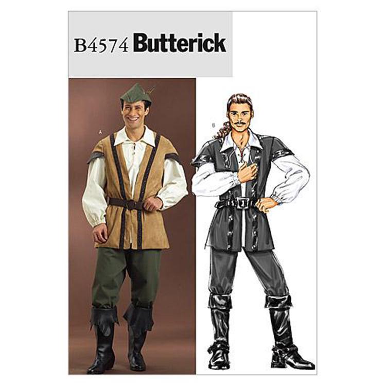 Butterick Pattern B4574 Men's Costume