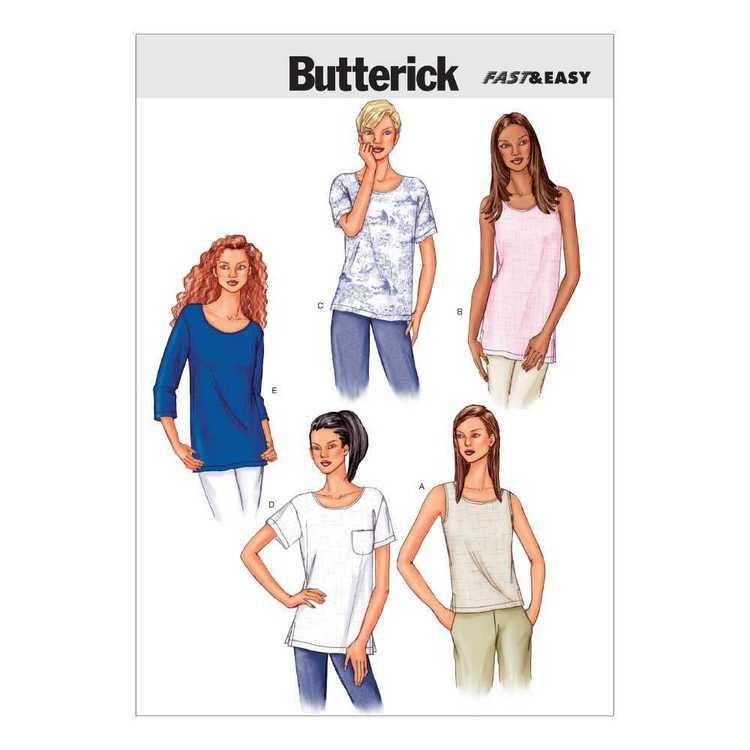 Butterick Pattern B3383 Misses' Petite Top