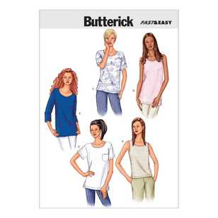 Butterick Pattern B3383 Misses' Petite Top