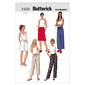 Butterick B3460 Misses' Petite Skirt Shorts & Pants