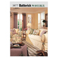 Butterick B3877 Drapes Slipcovers & Pillows One Size