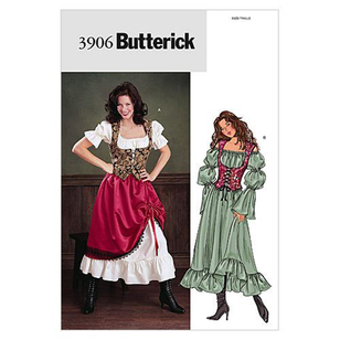Butterick B3906 Misses' Costume