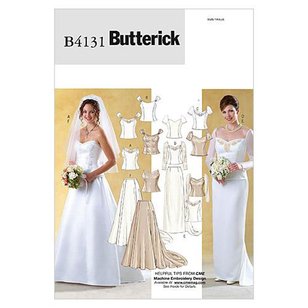 Butterick Pattern B4131 Misses' Top & Skirt